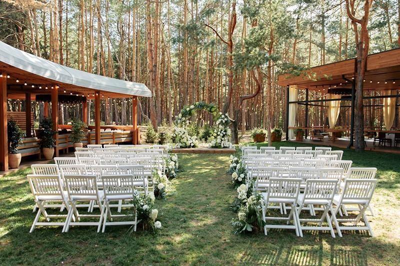 backyard wedding venue