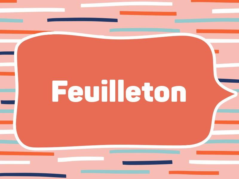 2014: Feuilleton (Tie)