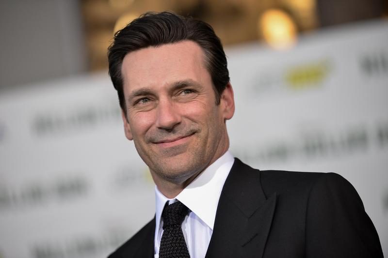 """Jon Hamm arrives at the premiere of """"Million Dollar Arm"""" in Los Angeles in 2014."""