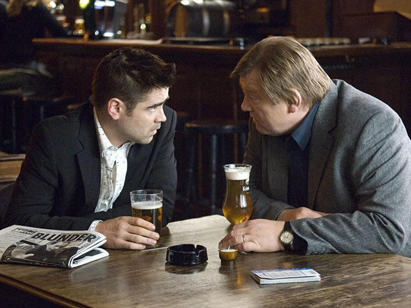 """Colin Farrell and Brendan Gleeson in """"In Bruges"""""""