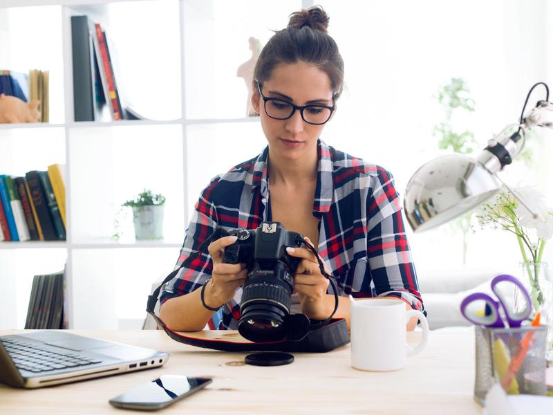 Many professional photographers focus on real estate listings