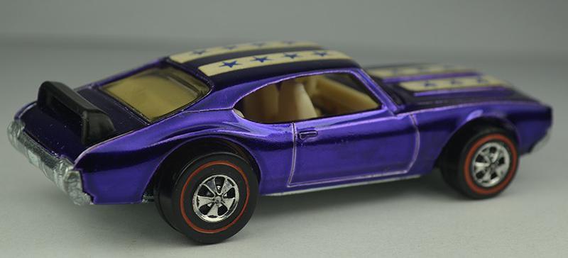 1971 Purple Oldsmobile 442