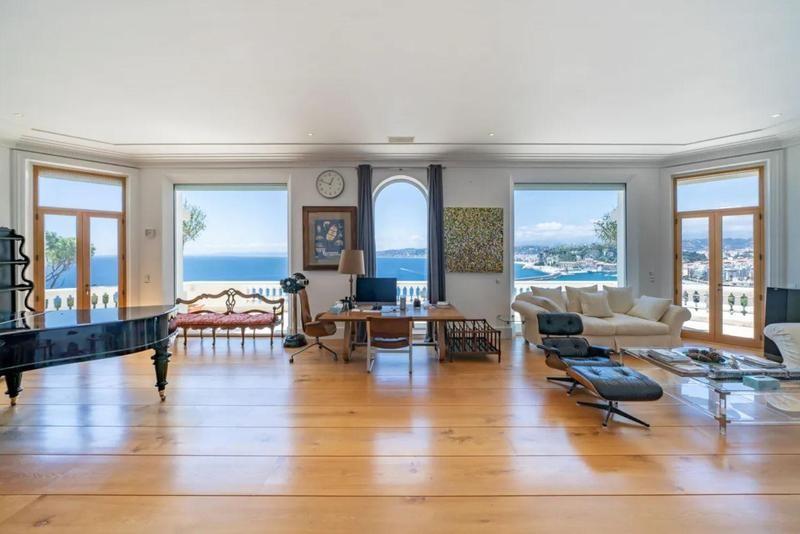 Living room of estate