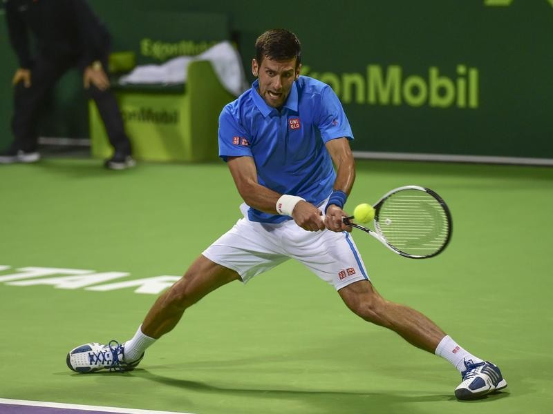Serbian tennis star Novak Djokovic