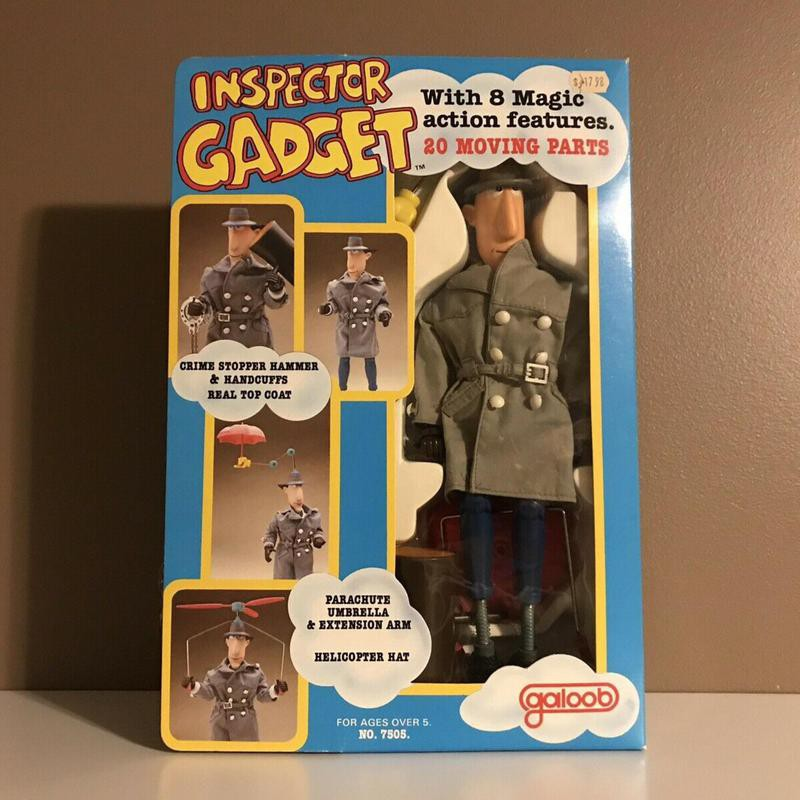 Inspector Gadget Galoob Action Doll