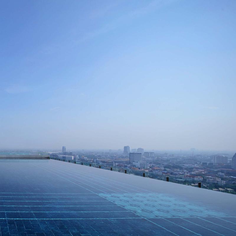 27th-Floor Pool 137 Pillars Suites & Residences Bangkok