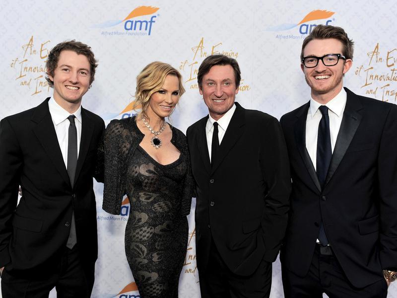 Ty Gretzky, Janet Gretzky, Wayne Gretzky, Trevor Gretzky