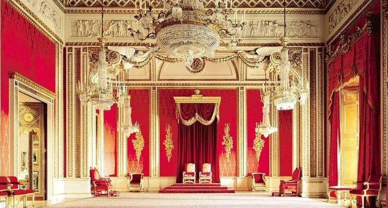 Buckingham Palace Throne Room