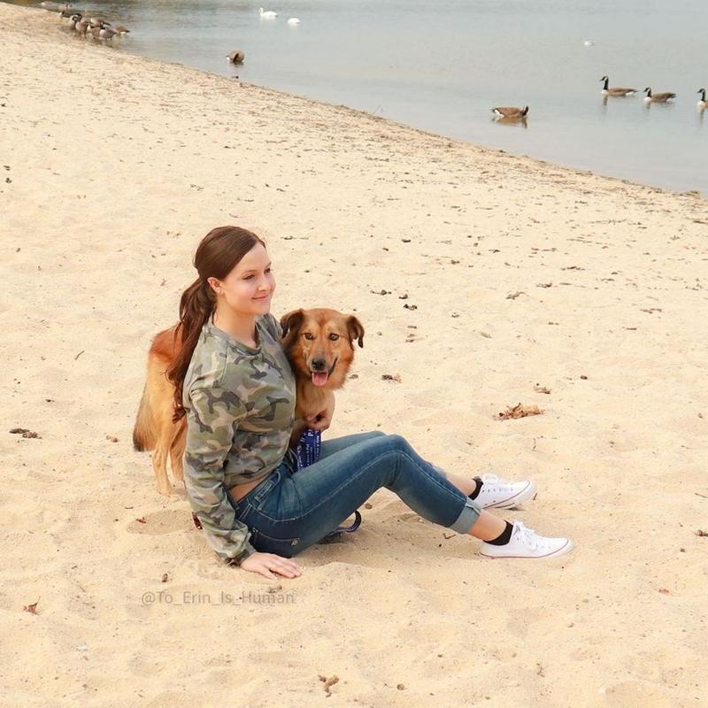 Meeka and Mom, Sgt. Erin Guthrie