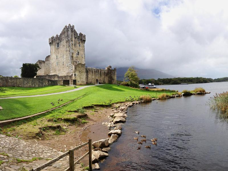 Ross Castle in Ireland