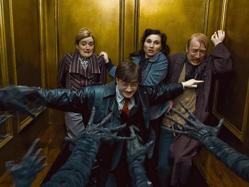 Harry Potter and the Deathly Hollows: Part I
