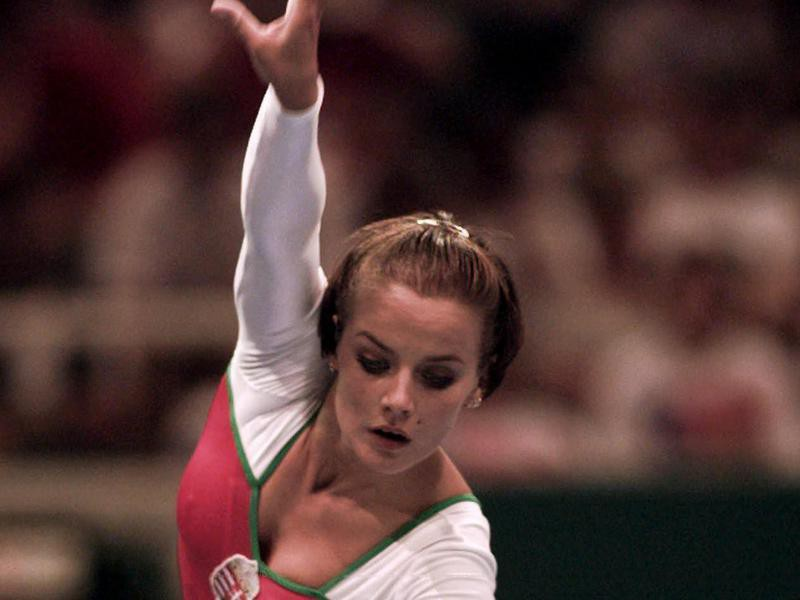 Henrietta Onodi is one of the best women's gymnasts of all time