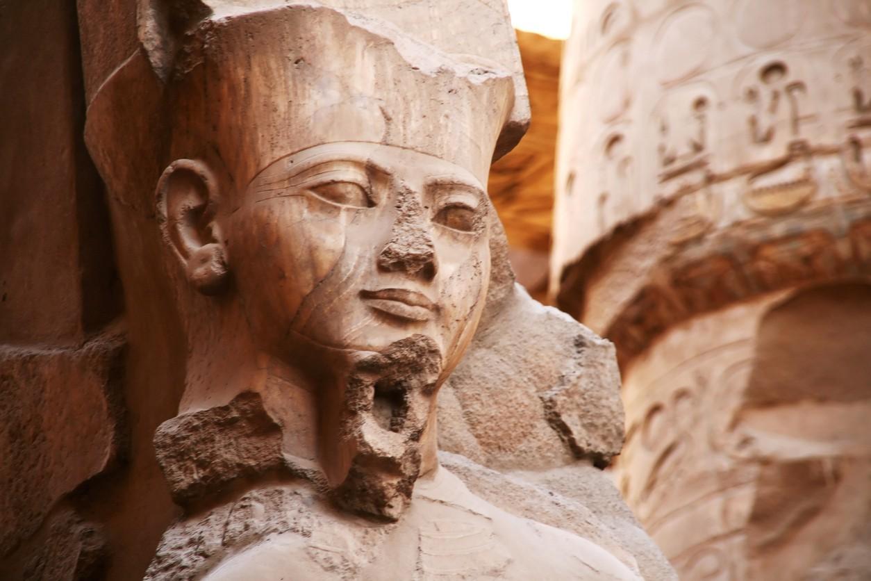 Pharaoh Ramses II, Luxor, Egypt