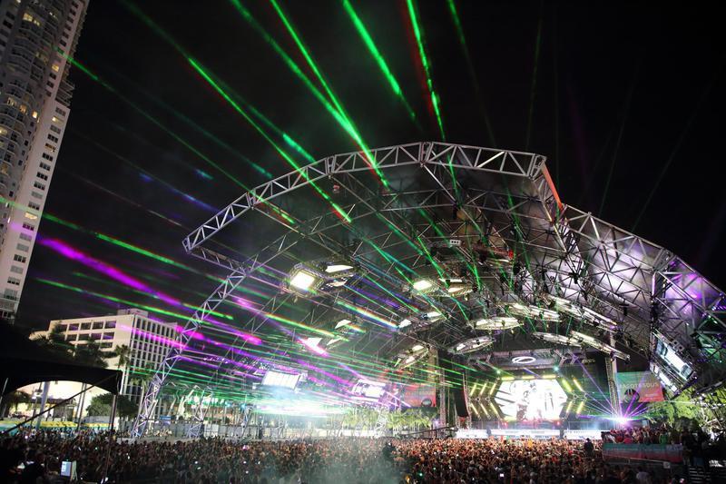 Ultra Music Festival scene