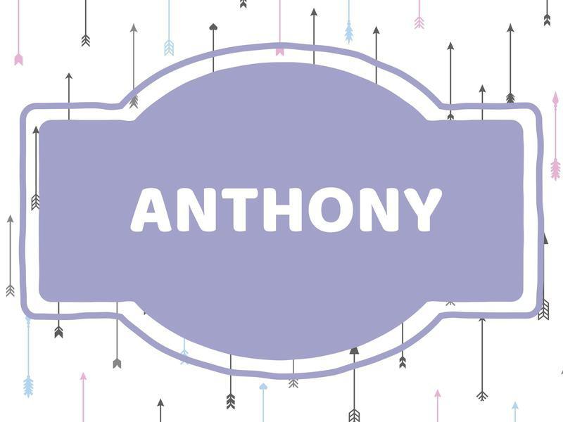 Unique Baby Boy Names: Anthony