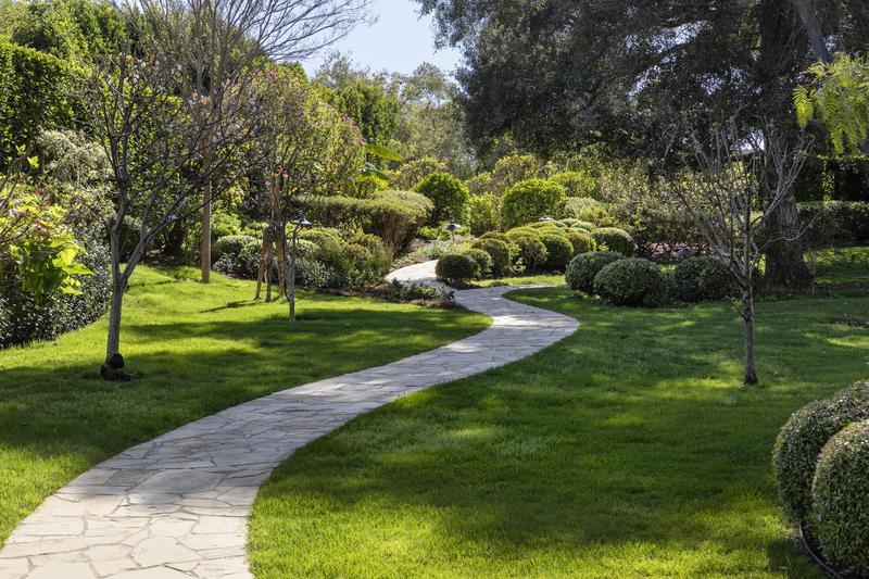 Path through the gardens