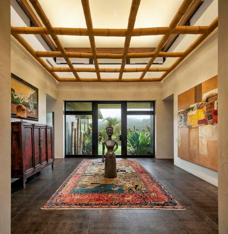 Balinese-inspired room