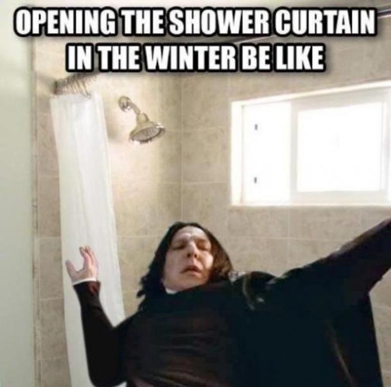 Slippery shower