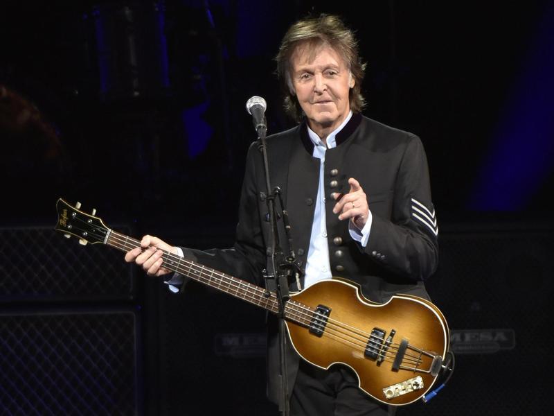 McCartney in concert