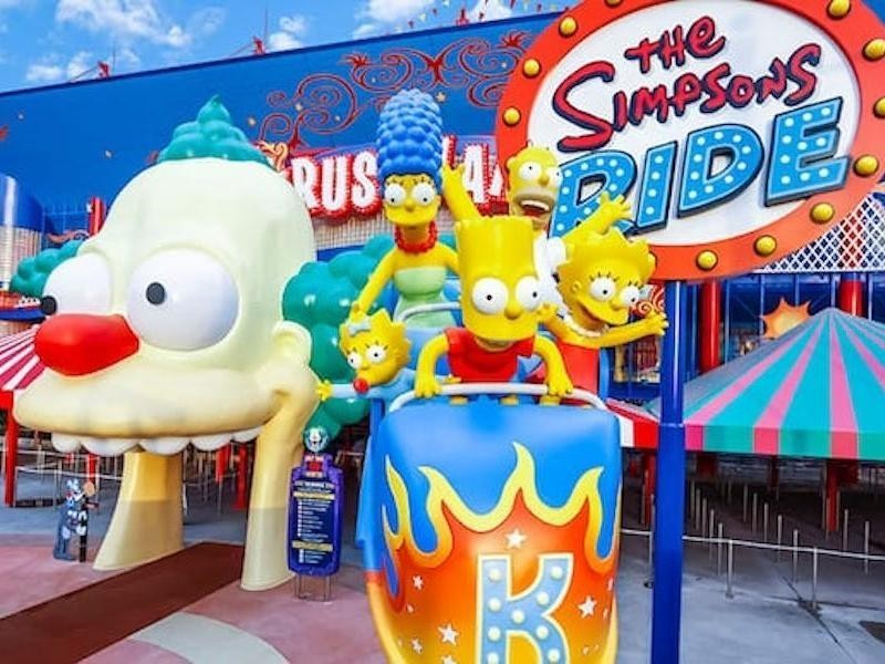 Simpsons Ride