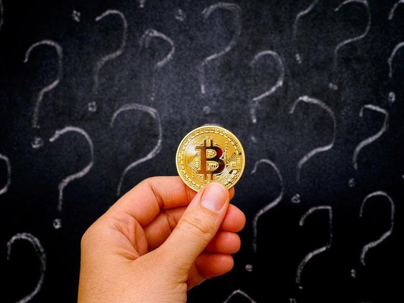 Bitcoin and question marks