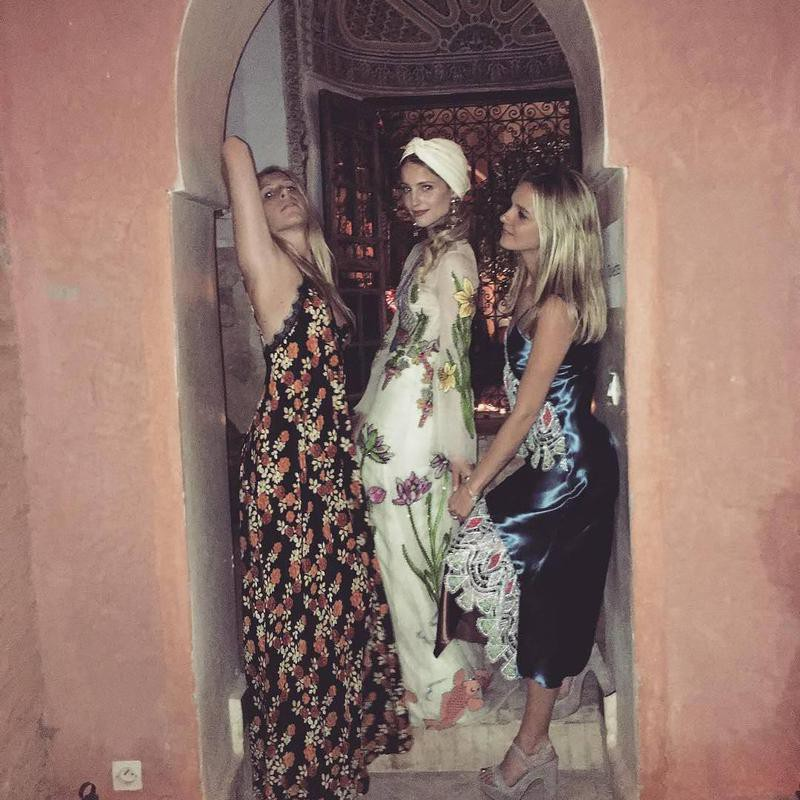 Dianna Agron and friends