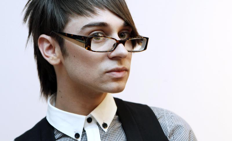 Christian Siriano poses for a portrait in Los Angeles in 2009.