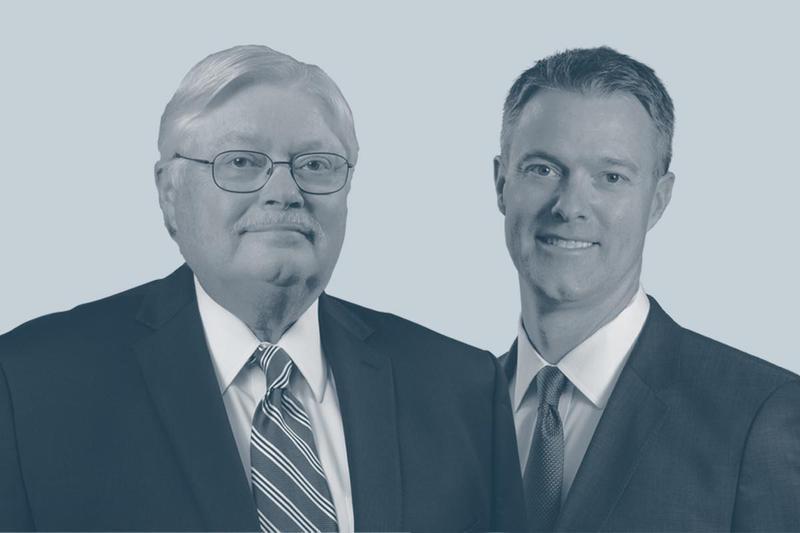 Robert B. Gillam (left) and Robert A. Gillam (right)