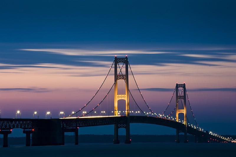 Mackinac Bridge, Michigan