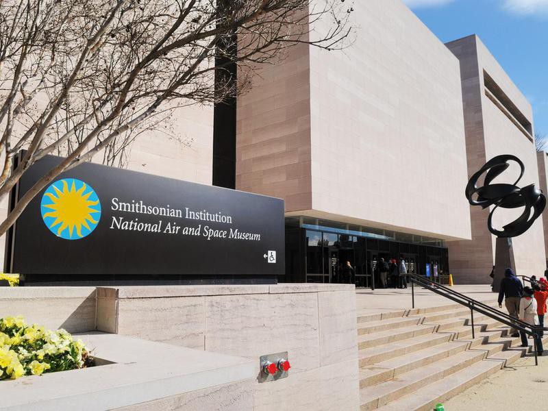 Smithsonian Institution National Air and Space Museum Entrance