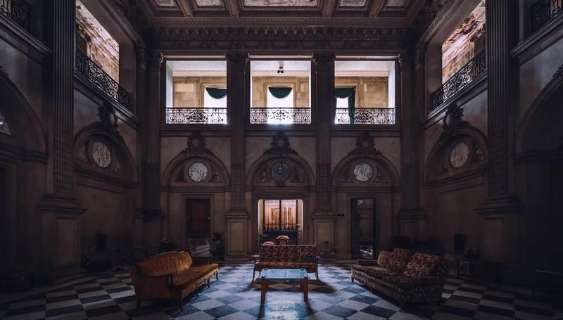 Lynnewood Hall interior