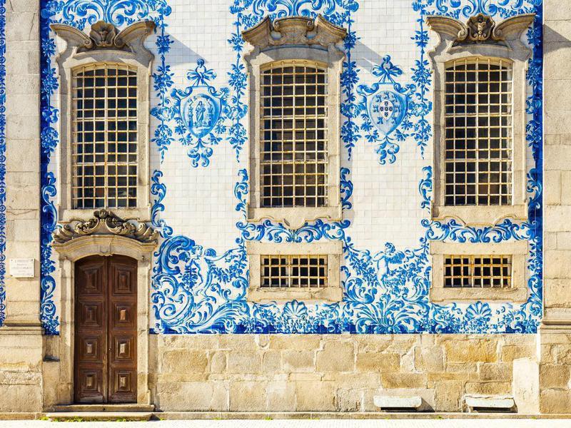 Carmo Church) in Porto, Portugal