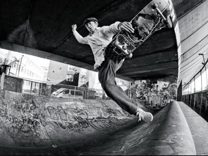 Mark Gonzales skating