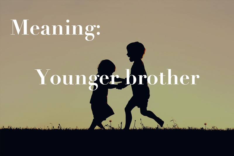 younger brother