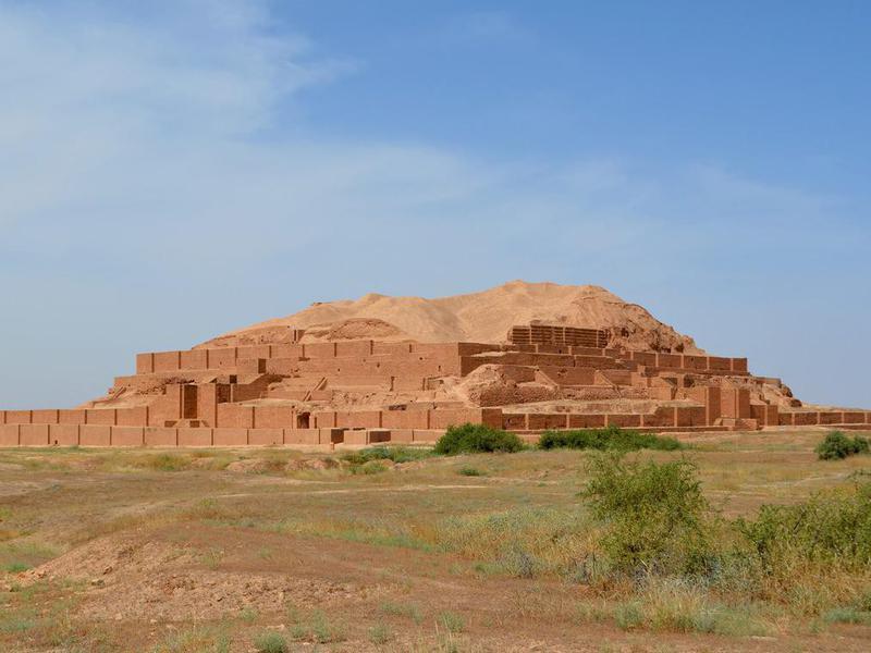 Iran, Chogha Zanbil ziggurat