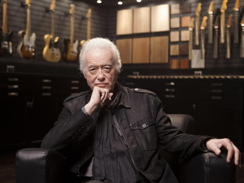 Jimmy Page in 2018