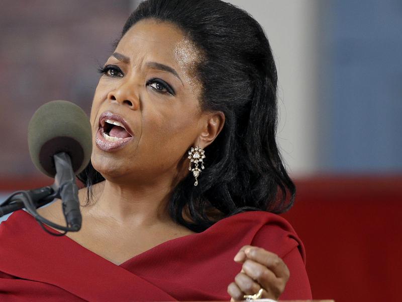 oprah harvard