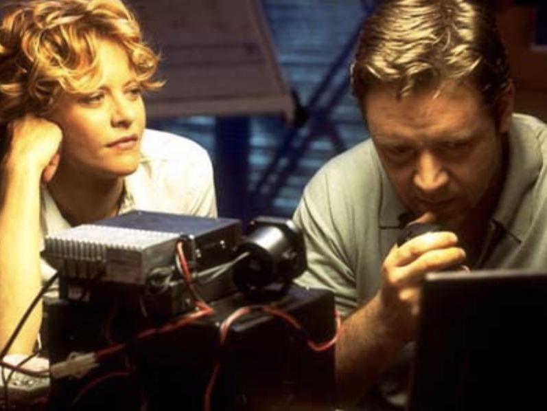 Meg Ryan & Russell Crowe in Proof of Life
