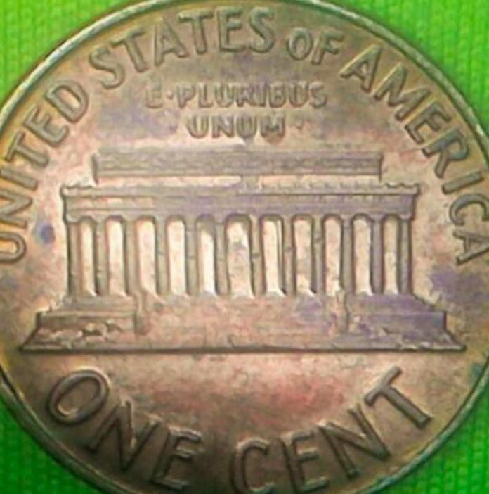 1971 S Lincoln Memorial Cent (Doubled Die Obverse)