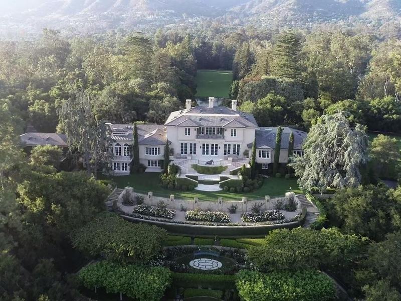 celebrity mansions