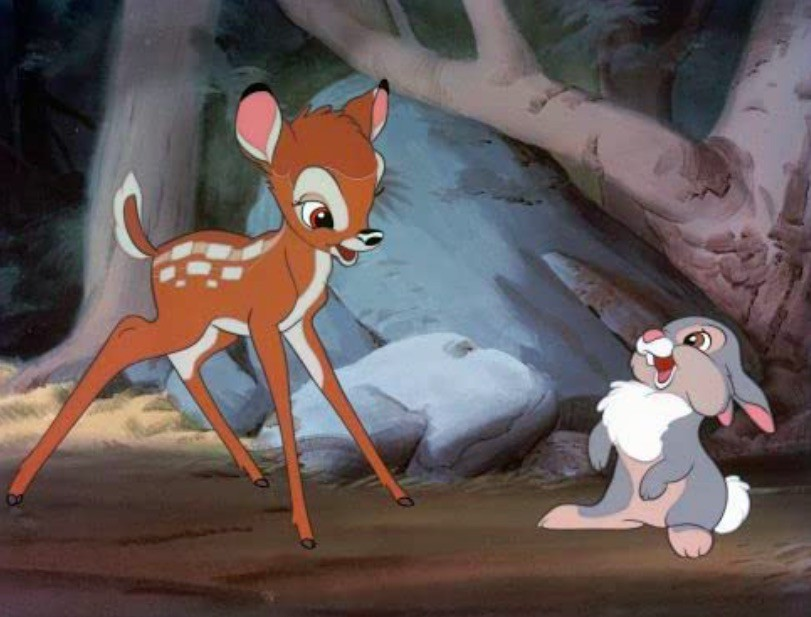Bambi VHS tape
