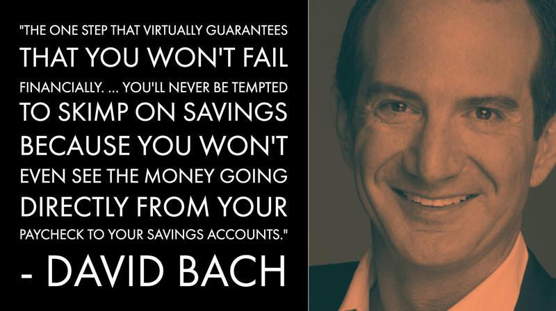 David Bach Money Advice