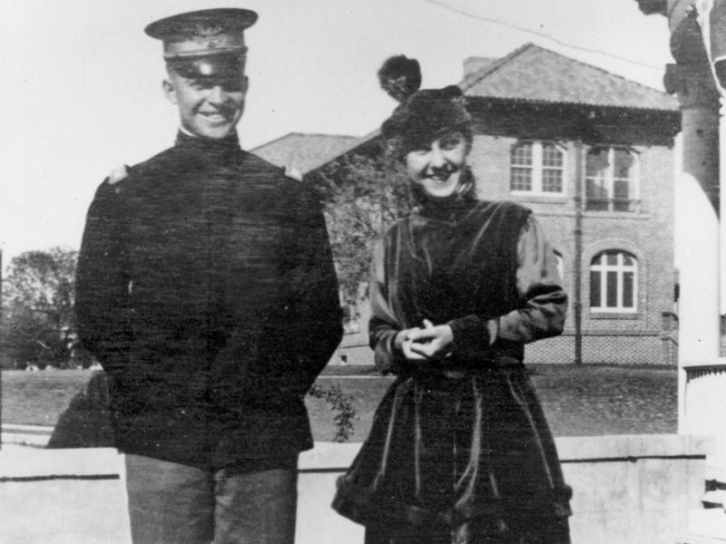 Dwight Eisenhower and Mamie Doud
