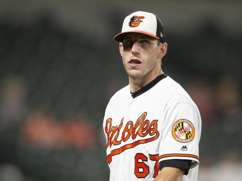 Baltimore Orioles starting pitcher John Means