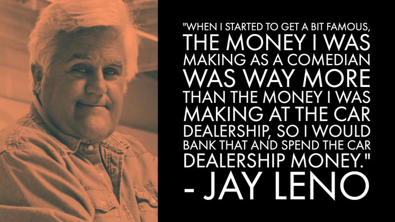 Jay Leno Money Advice