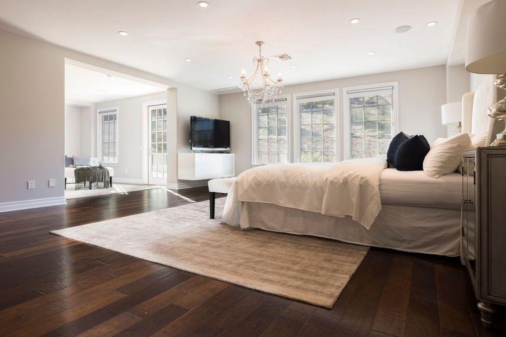 Katie Holmes' master bedroom