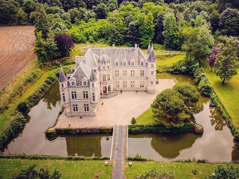 Château de Bourneau exterior