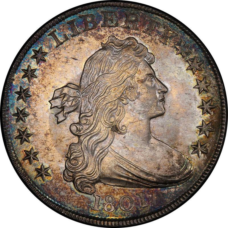 1801 Draped Bust Silver Dollar
