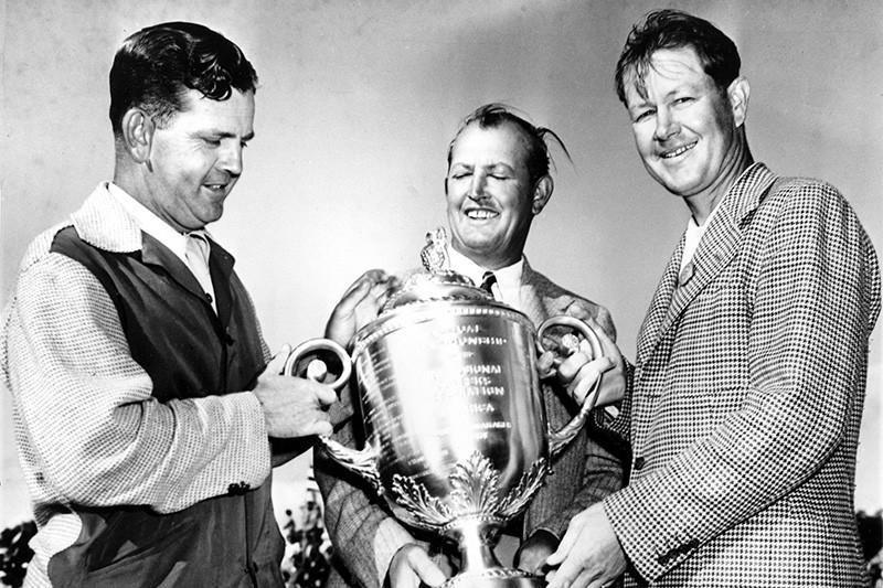Byron Nelson wins PGA Championship in 1945