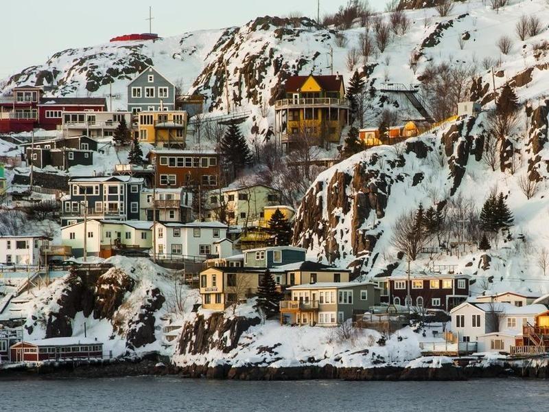 Saint John's in Newfoundland